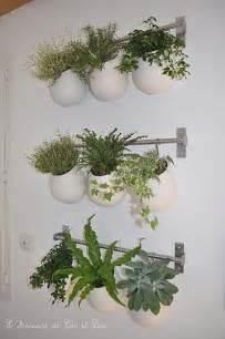 mur vegetal ikea d 233 co pots cuisine et ikea