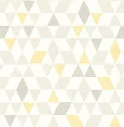 shop houzz brewster scandi yellow triangles wallpaper scandinavian wallpaper hd