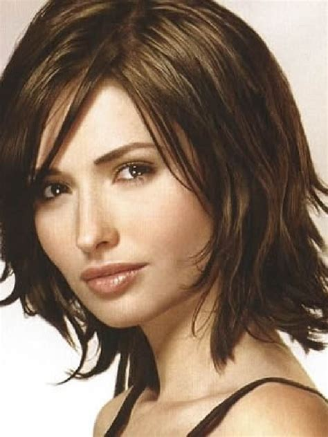 medium hairstyles for fine hair pictures medium length hairstyles for fine hair mcfaneusou