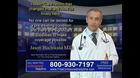 Uninsured Helpline TV Spot, 'Your Obamacare is Now
