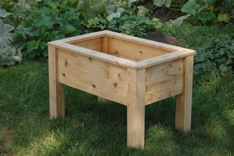Decks Planters And Etsy On Pinterest Planter With Legs