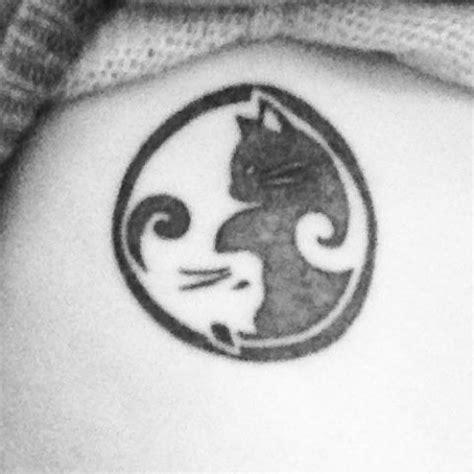cat yin yang tattoo 17 beste afbeeldingen over art body painting tattoos