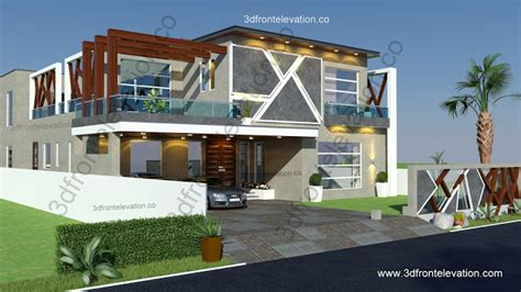model house in islamabad bahria town by target builders 3d front elevation com