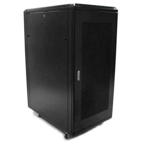 Cabinet Casters by 25u 36in Knock Server Rack Cabinet With Casters Ebuyer