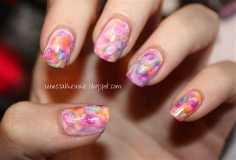 water color nails likes nails new technique watercolor nails