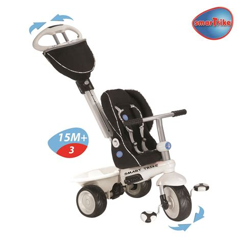smart trike recliner black new smart trike recliner stroller with toy bar 4 in 1