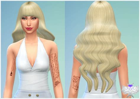 barbies stuffs hairstyles sims 4 hairs sims 4 hairs david sims barbie hairstyle wavy with