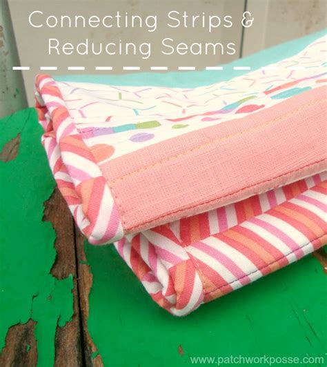 Sewing Binding On A Quilt by How To Sew Your Bias Strips Together Quilt Binding