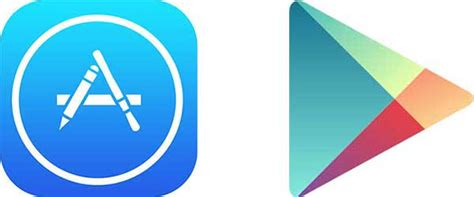 Play Store And App Store Icons Trends On Tuesday Federal App Development Trends