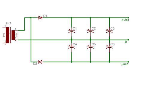 dioda zenera 1n4001 zasilacz symetryczny 12v ze zwykłego 12v elektroda pl