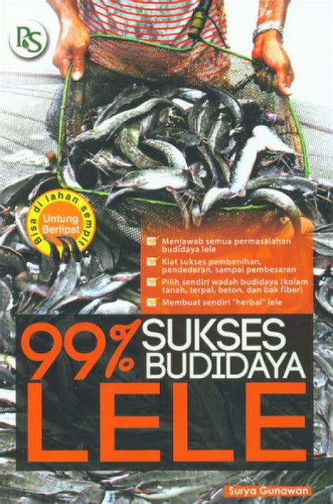 Buku Budidaya Belut Lele Cacing bukukita 99 sukses budidaya lele toko buku