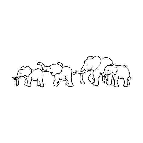 elephant tattoo template elephant outline tattoo tattoo collections