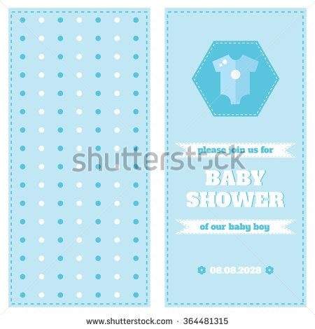 welcome card design template baby card design template baby shower stock vector