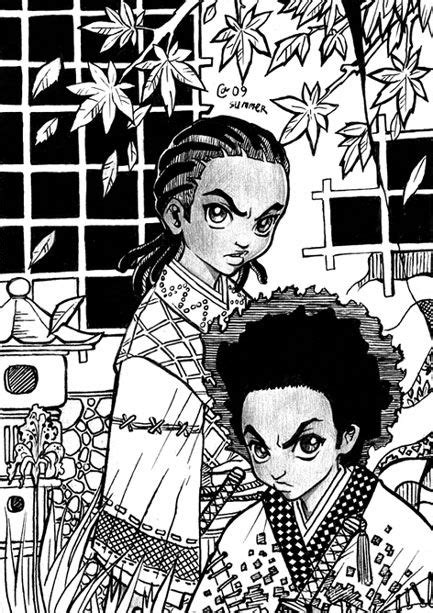 Samurai Boondocks by Autumn-Sacura | Films & Shows