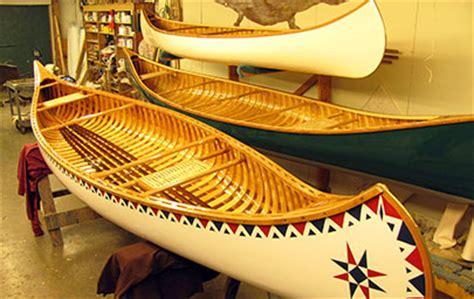 boat canvas repair shops near me island falls canoe custom made wood and canvas canoes