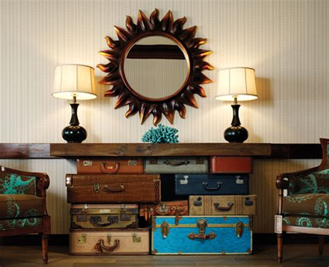 old home decor how to reuse old suitcases in home decor furnish burnish