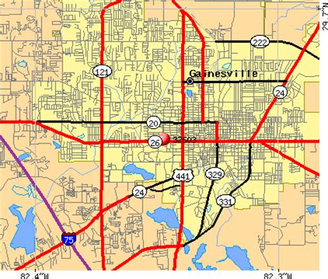 map of gainesville fl city of gainesville fl map images