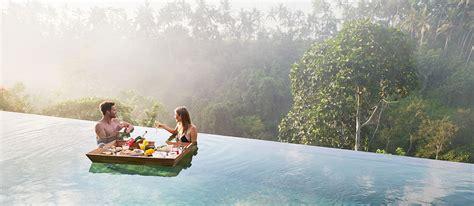 floating breakfast  brunch experience  kamandalu ubud
