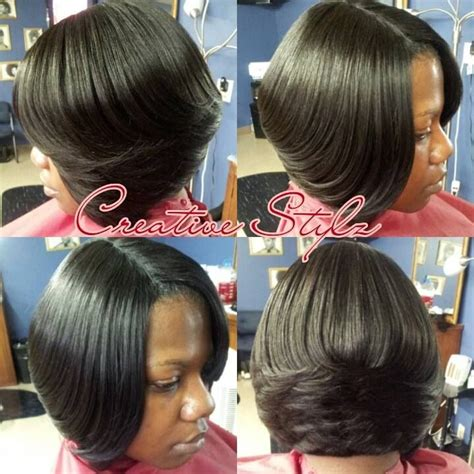 short bob style weaves short weave bob love it sista hair pinterest
