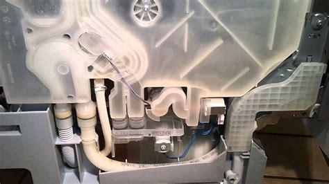 boschsiemens geschirrspueler dishwasher waermetauscher
