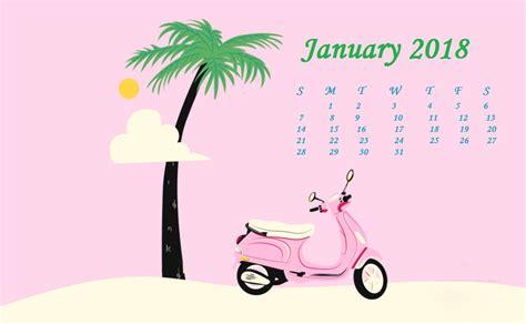 cute january wallpaper january 2018 hd calendar calendar 2018