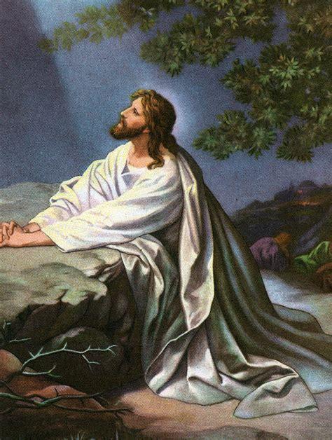 christ   garden  gethsemane painting  heinrich