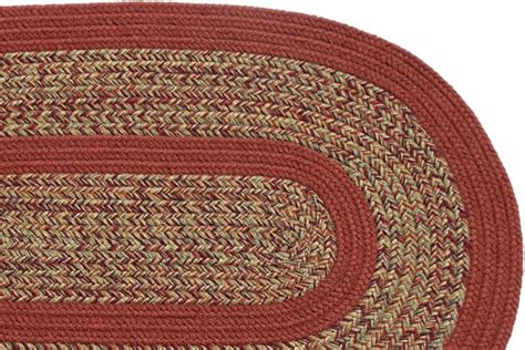 carolina braided rugs 1775 carolina harvest terracotta braided rug