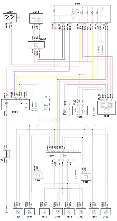 citroen xsara estate wiring diagram universal diesel