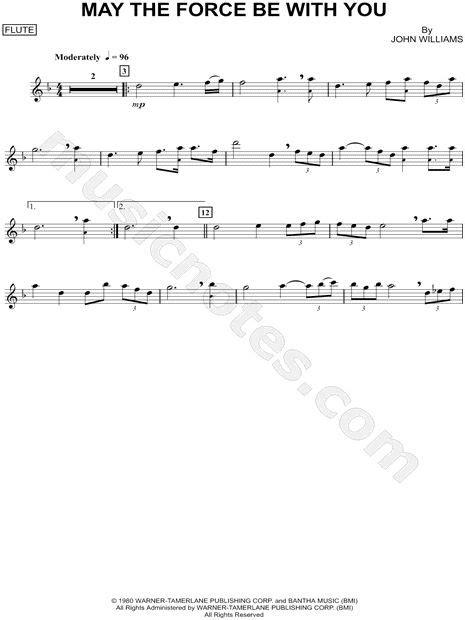 Free Printable Trumpet Sheet Wars