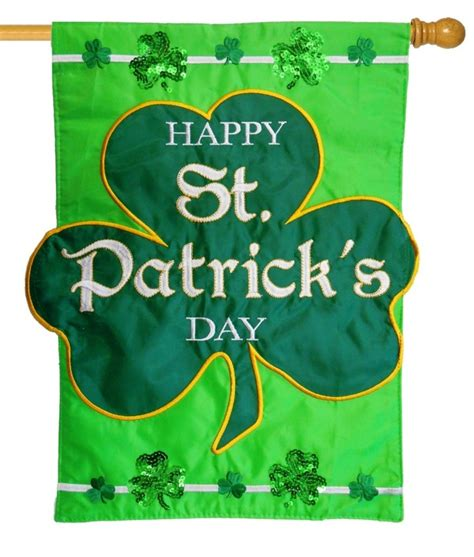 st patricks day reflection iamericas flags happy st patrick s day sequined