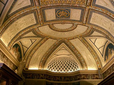 Vatican Ceiling by Ceiling Vatican Museum Rome Italy Architecture