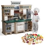 Lifestyle Deluxe Kitchen by Lifestyle Deluxe Kitchen With Extra Play Food Set Kids
