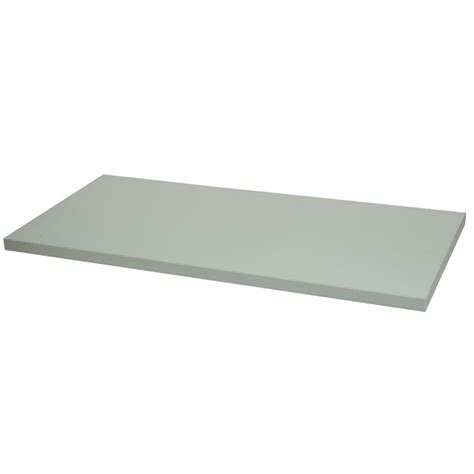 12in x 24in wood melamine shelf white