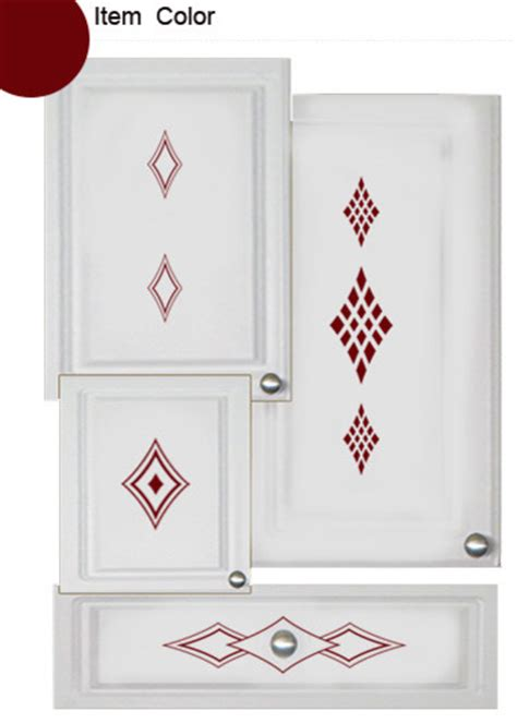 kitchen cabinet decals kitchen cabinet accents diamond theme contemporary