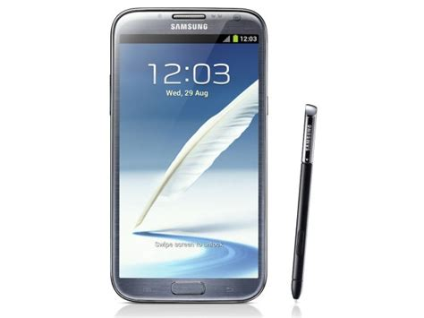 mobile samsung note 2 samsung announces galaxy note ii with jelly bean 1 6ghz