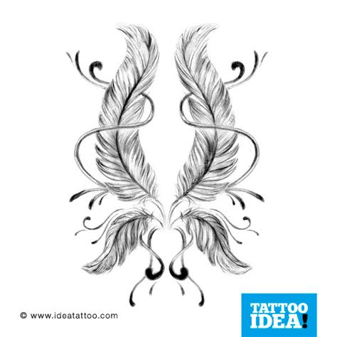 tattoo flash feather tattoo flash feathers ideatattoo