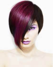 two colored hair two tone hair color ideas how to dye colors at home free