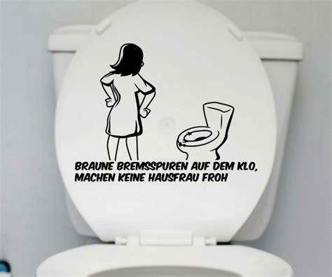 Lustige Wc Sitz Aufkleber by Wc Deckel Aufkleber Hausfrau Klo Toiletten Lustig Spruch