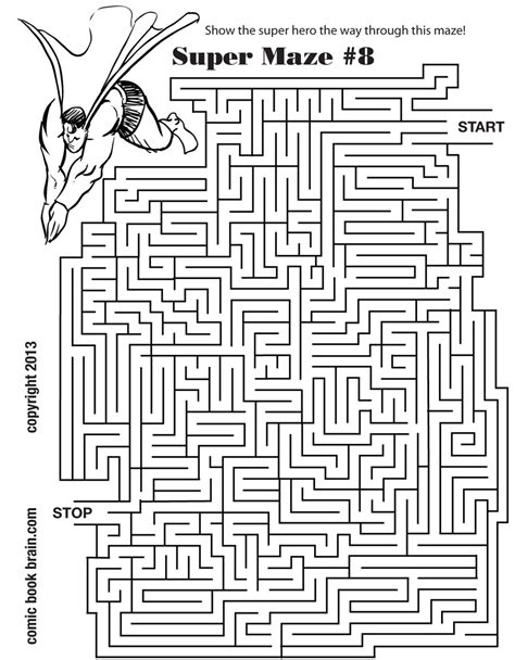 printable monkey maze free coloring pages of medium maze