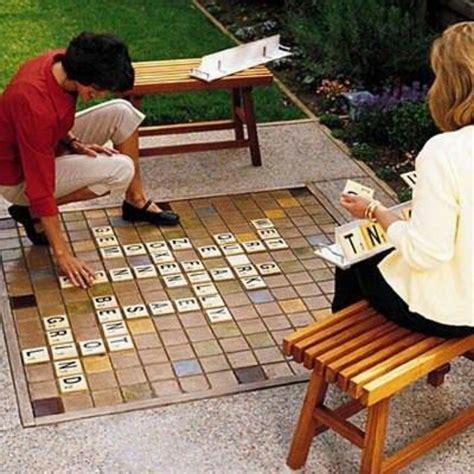 outdoor scrabble outdoor scrabble board outdoor living