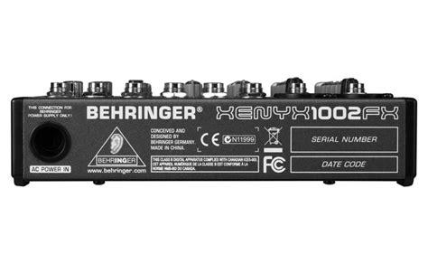 Mixer Behringer Xenyx 1002 Fx behringer xenyx 1002 fx mixer mit effekten