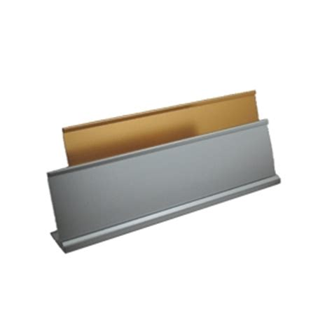 Desk Name Bar by Corporate Badge Store Pharmacy Guild Aluminium Desk
