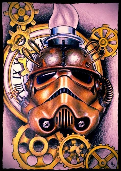 steampunk stormtrooper helmet pictures to pin on pinterest