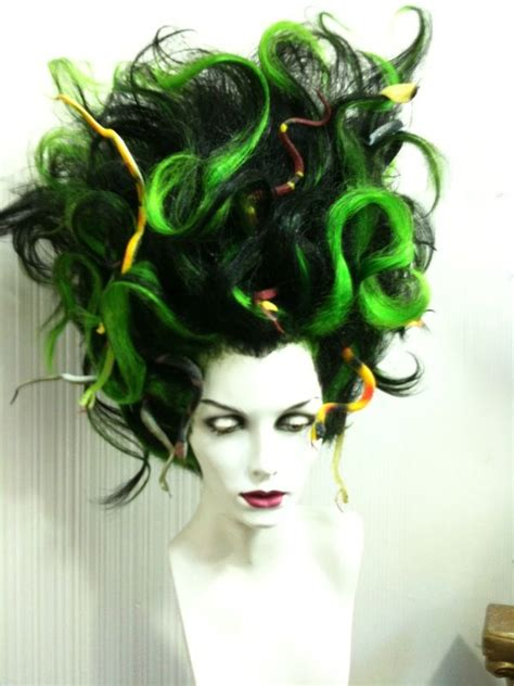 medusa hairstyles halloween character wigs outfitters wig halloween pinterest