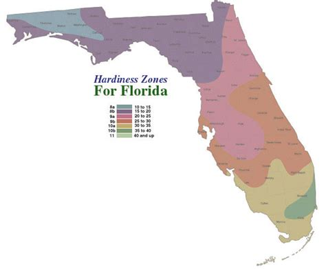 gardening zones florida usda and arbor day foundation plant and hardiness zone maps