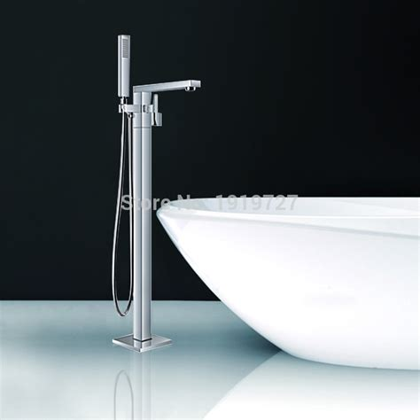 bathtub faucet aliexpress com buy floor standing faucet bathroom square