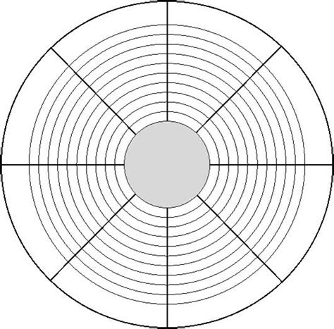 blank performance profile wheel template taking charge of your coach development part 2 coach growth