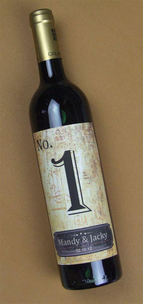 custom wedding wine label personalized wine label