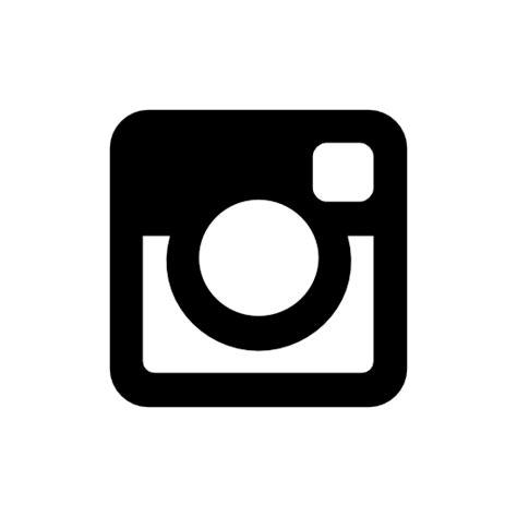 black instagram icon free black social icons instagram icon free of social black icons