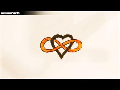 imagenes de amor infinito para dibujar como dibujar un infinito perfecto youtube